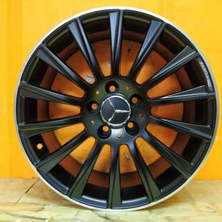 17inch SPORT RIM MERCEDES BENZ MULTI SPOKE WHEELS