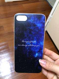 Brand new blue universe iPhone 7/8 case