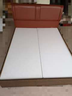 Used Bed frame and mattress