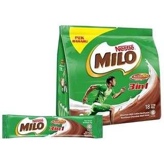 Open PO Milo Malaysia