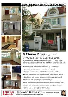 Semi-detached at Chuan Drive with 4123sqft of Functional Space