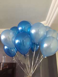 Balloons with helium