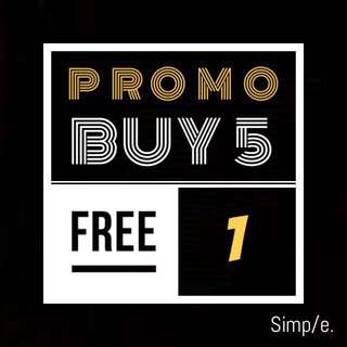 Coming Back Promo 🛒