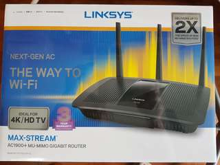 Linksys MU-MIMO High Speed Router