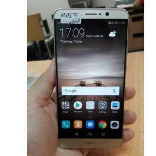 Mate 9 (64GB) Gold, Phone Only, 9.8/10 Condition