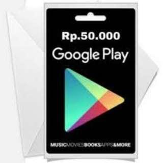Google Play 50k