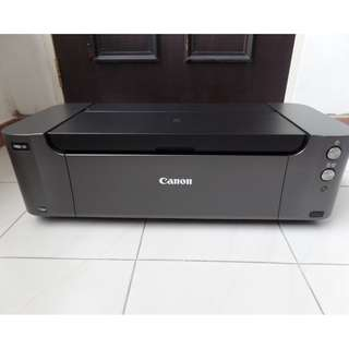 Used good working condition Canon PIXMA Pro 10 A3+ Printer