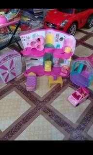Shopkins plus acc barbie