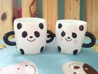 Panda Couple Mug