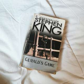 Stephen KING Geralds game first edition