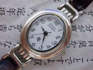 Original lady Royal Crown watch