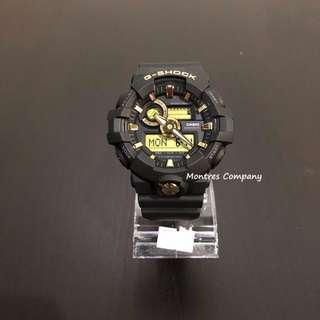 Montres Company香港註冊公司(25年老店) CASIO g-shock GA-710 GA-710B GA-710B-1 GA-710B-1A9 兩隻色有現貨 GA710 GA710B GA710B1 GA710B1A9