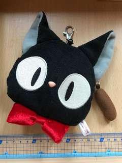 🚚 日本三鷹之森吉普力 魔女宅急便黑貓伸縮票卡包