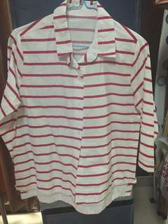 H&m look alike stripe tshirt