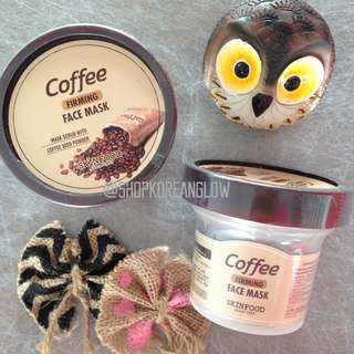Skinfood Coffee Firming Face Mask