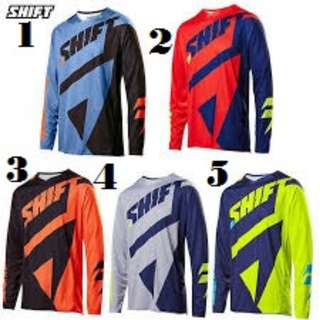 GrabMee Shift Bike Motocross Long Sleeve Jersey