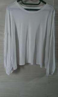 Short white blouse Pull n Bear