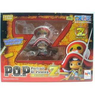 "Megahouse One Piece P.O.P. Tony Tony Chopper ""Z Version"" Excellent Model PVC Figure(Offer Your Price)"