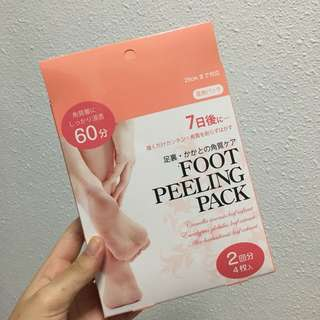 FOOT PEELING PACK/MASK