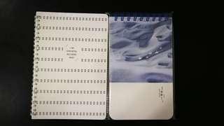 Note book in packaging