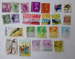 蓋銷本地郵票