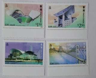 香港現代建設郵票