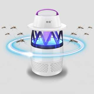 (436) LanternOutdoor Mosquito Killer Lamp LED Photocatalyst Mute Fan Night Light Insect Repellent Travel Camp