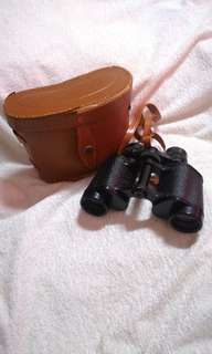 #IKEA50 Vintage 1950's BOOTS 8 x 30 Coated Optics Binoculars (VGC) & Original Case