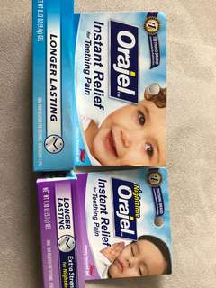 Reduced - Teething Gel - day and nighttime