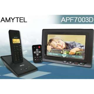 Amytel 7吋數碼相架 + 無線數碼電話 (有保用)