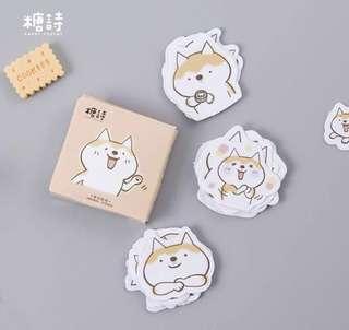 🚚 Shiba Inu Stickers