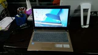 Laptop Acer 4752 Core i3 Ram 2GB hdd 500GB