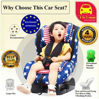 Little One Exclusive CSB Baby Car Seat #July100