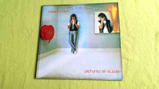 "ROBERT PLANT (Lead vocalist of ""Led Zeppelin"" .  pictures at eleven.  Vinyl record"