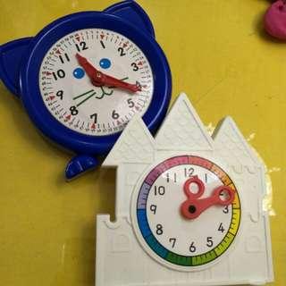 學習 教學用 小時鐘