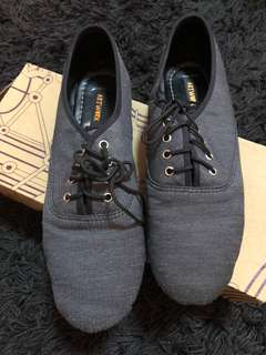 Artwork Dark Denim Shoes