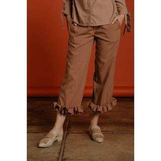 Shopataleen ruffle pants
