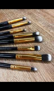 8pc Eye brush set