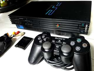 Sony ps2 fat phat playstation 2 scph 50006