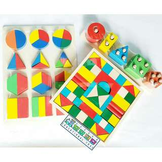 Wooden Math Bundle