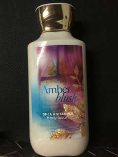 Bath and Body Works Body Lotion in AMBER BLUSH