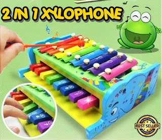 2 IN 1 XYLOPHONE