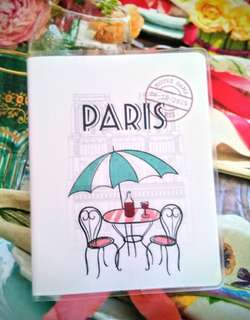 Dainty Paris Pocket Notebook