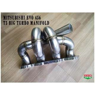 MITSUBISHI EVO 456 T3 BIG PIPE TURBO MANIFOLD