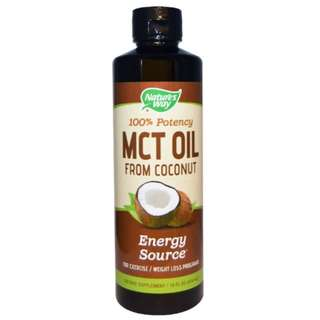 Nature's Way MCT Oil From Coconut 16 fl oz (474 ml)