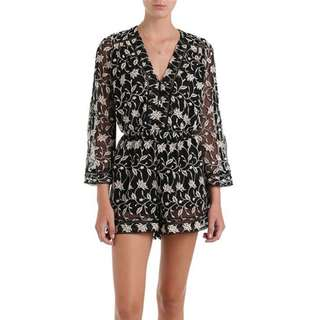 c4ce04493be Zimmermann Nightmarch Vine Playsuit Size 0