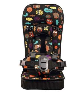Foldable car safety seat booster seat travelling safety seat