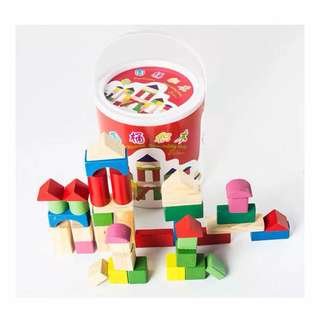 Educational wooden blocks