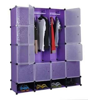 DIY 16-Cubes Cabinet
