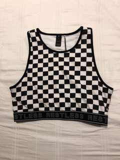 Factorie Race Crop Top